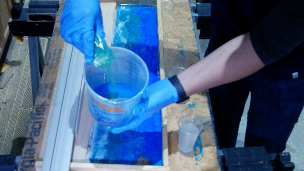 mix resin pigment powder colors