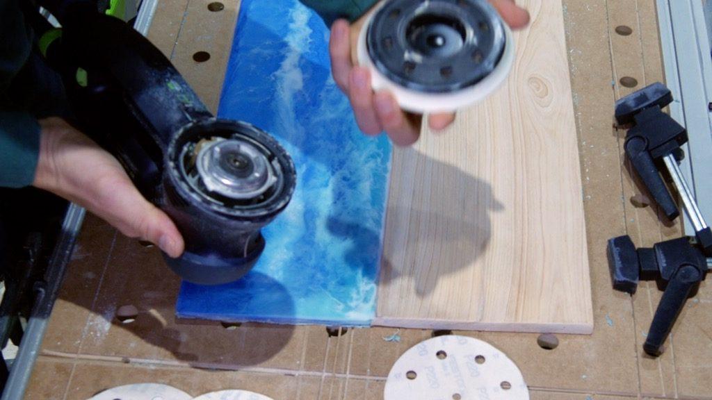 festool ro125 change sanding pads