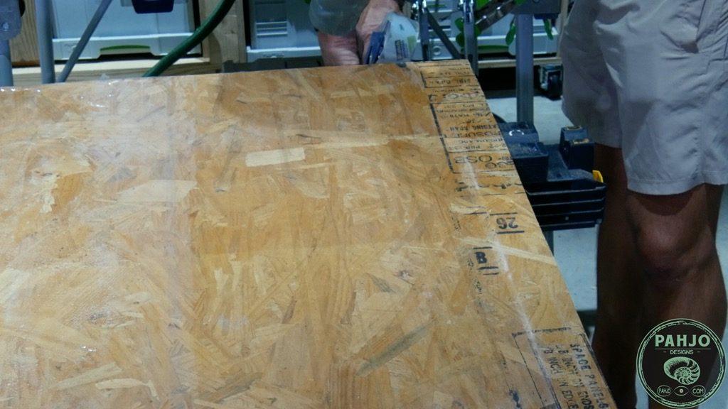epoxy river table mould