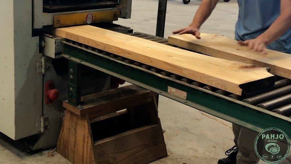 plane cypress wood slab