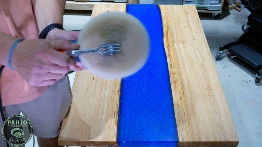 how to clean wool buffing pads