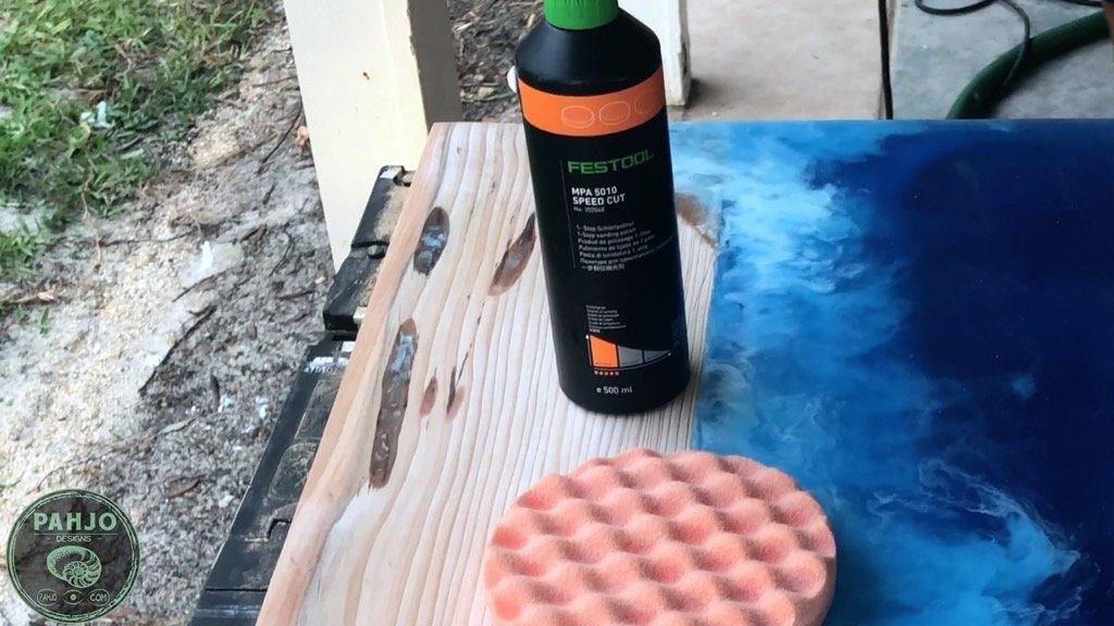 Festool Polish - Best Finish for epoxy river table