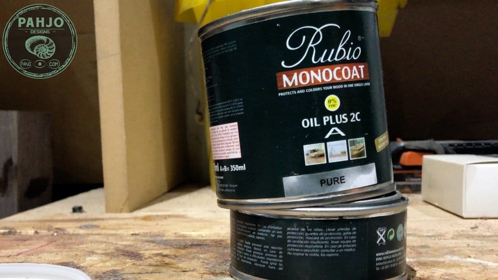 Best Finishes for Epoxy River Table Rubio Monocoat Oil Plus 2c