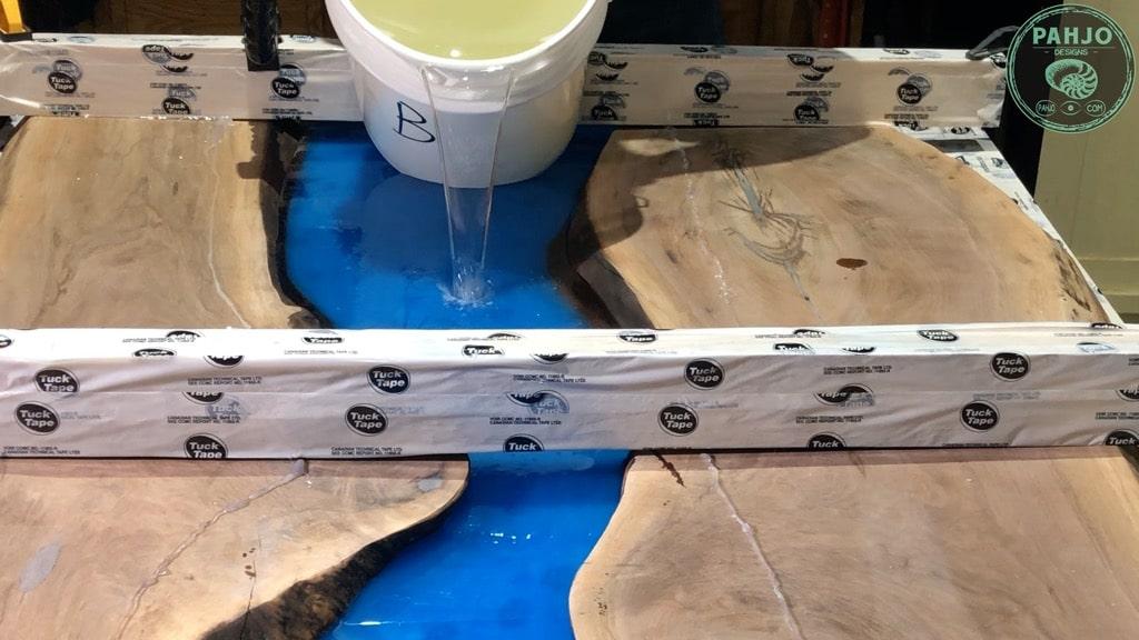epoxy deep pour second layer