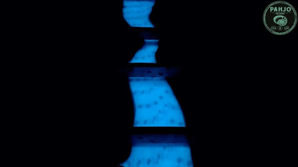 epoxy glow table