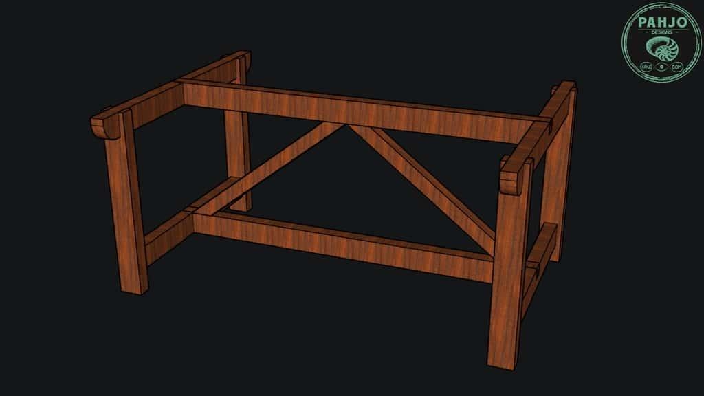 Trestle Table Bottom Design