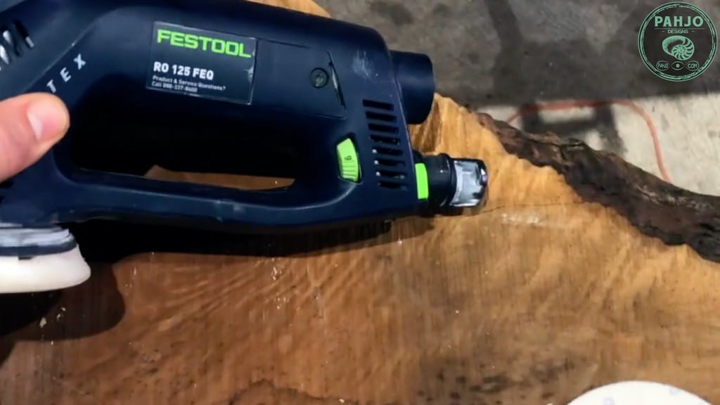 best sander for rough cut wood
