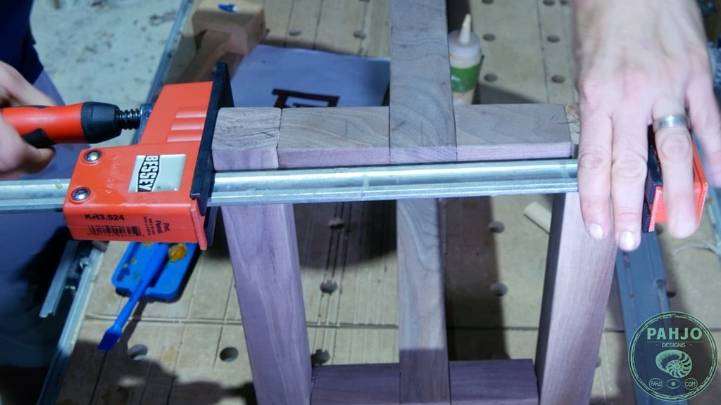 clamp bench seat bottom