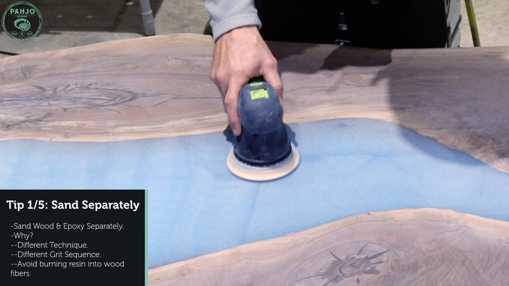 Epoxy Resin Sanding Tip