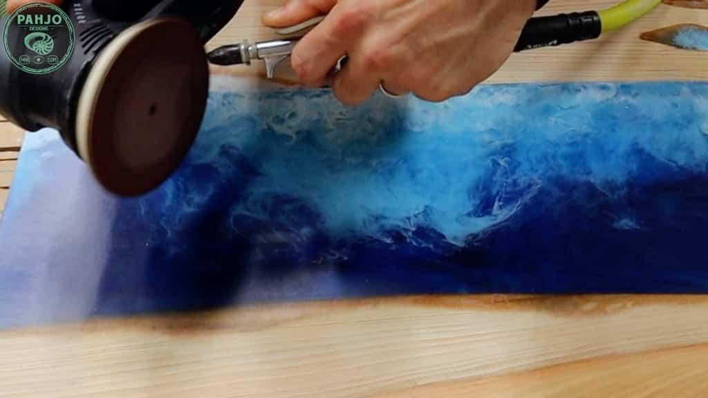 sanding epoxy tip