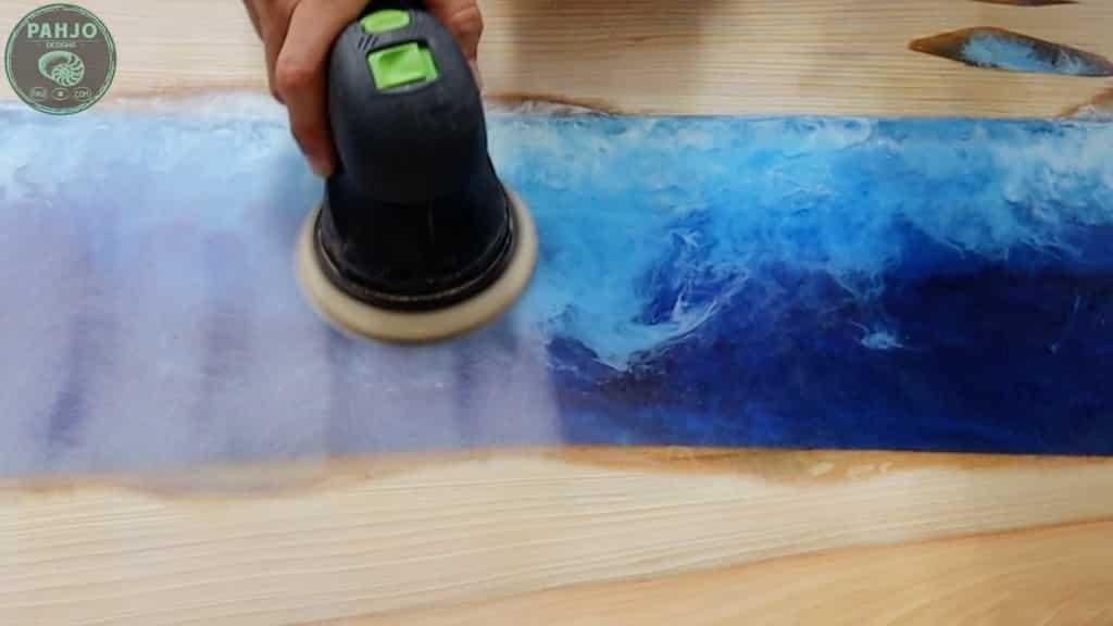 epoxy sanding technique
