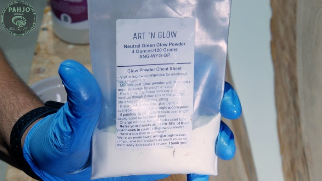 Epoxy Glow in the Dark Powder