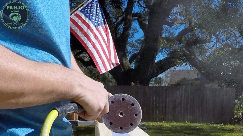 epoxy sanding tip