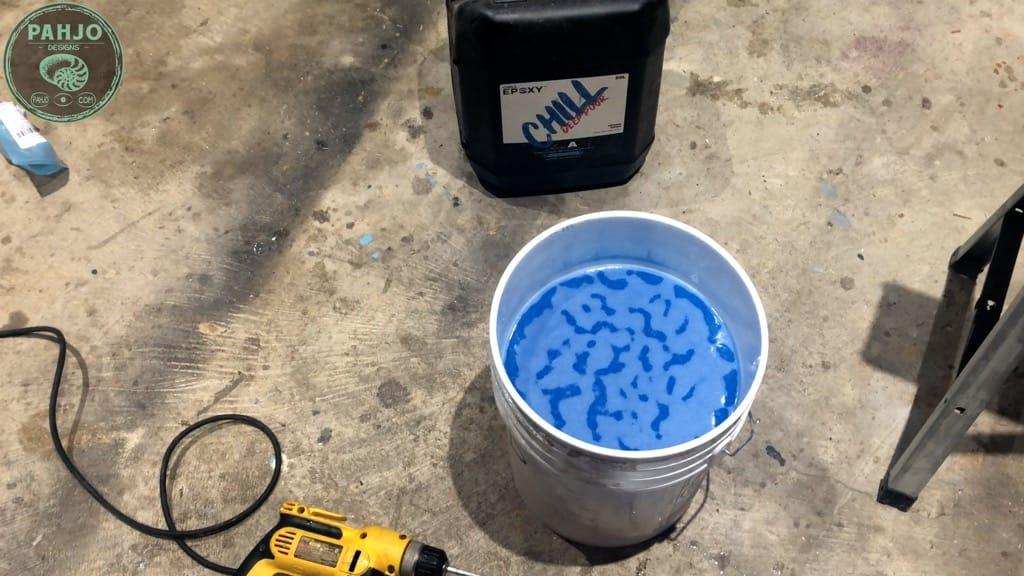remove epoxy bubbles