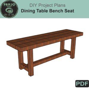DIY Dining Table Bench Plans PDF
