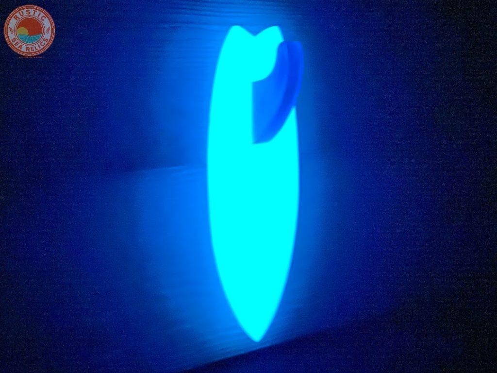 Glow in the Dark Surfboard Towel Hook