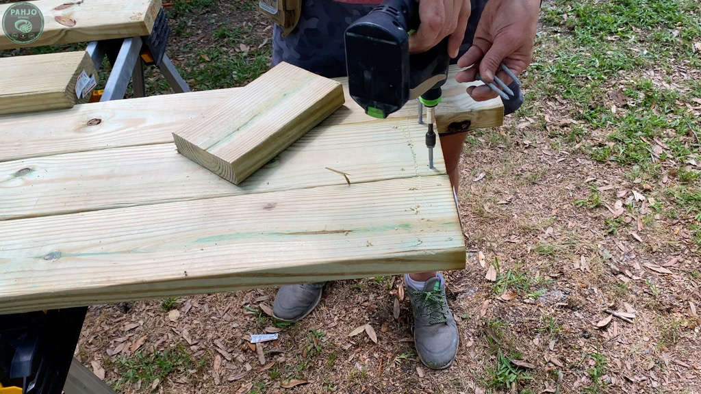 drill pilot holes for structural screws