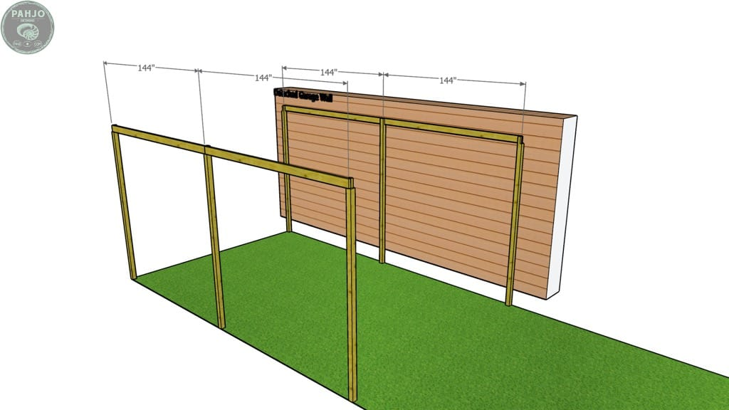 batting cage frame runners